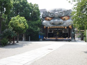 なんば八阪神社
